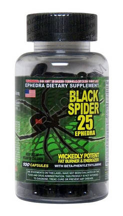 Black Spider 100капс, фото 2