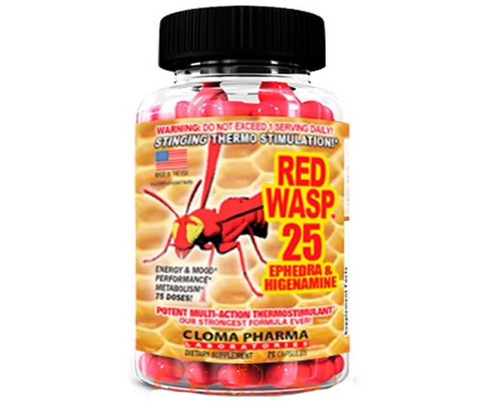 Red Wasp 25 75 caps