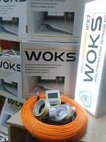 Тепла підлога Woks 800Вт тонкий нагрівальний кабель 77м
