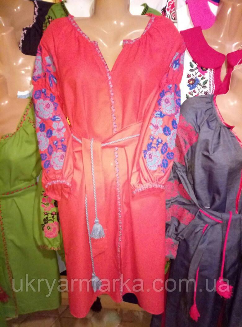 """Вишите плаття в стилі бохо """"Львівські традиції"""""""
