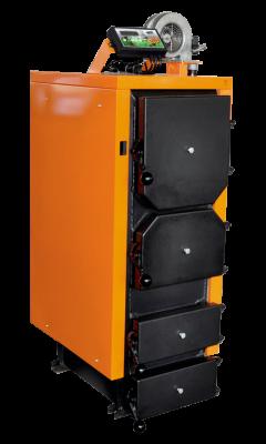 Твердопаливний котел ДТМ КОТ-13Т з автоматикою