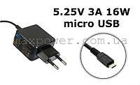 Зарядное устройство для планшета 5.25V 3A 16W micro USB