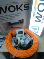 Теплый пол под плитку 125м Woks тонкий кабель нагревательный