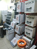 17м2 Тепла підлога 2430Вт під плитку 136м Woks тонкий нагрівальний кабель, фото 2