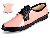 Стильные лакированные кожаные туфли МИДА 21430(264) 39