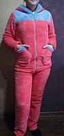 Пижама  женская махра  с длинным рукавом 42-50р,доставка по Украине