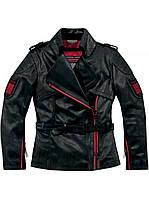 Мотокуртка женская ICON 1000 Federal черный 3XL