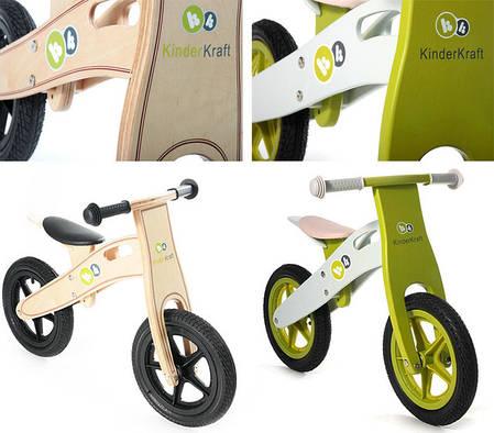 Беговел KinderKraft Runner, велобег KinderKraft Runner из дерева, фото 2