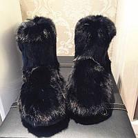 Угги женские из натурального меха кролика. Размер 36-40. АВ 7105