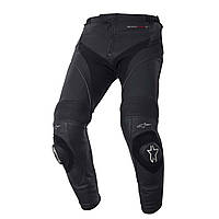 Мотобрюки ALPINESTARS MISSILE Long кожа черный 48