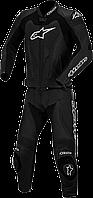 Мотокомбинезон раздельный ALPINESTARS Gp Pro кожа черный 48