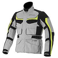 Мотокуртка ALPINESTARS Calama Drystar белый серый желтый 3XL