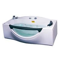 Ванна APPOLLO  прямоугольная с гидро-аэромассажем 1800*990*680 мм, с окошком