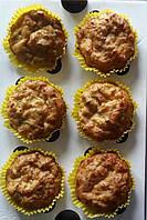 Капкейки домашние с кабачком соленые
