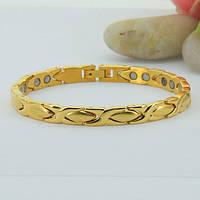 Магнитный браслет Афродита голд 5в1 (Желтое золото)