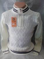 Мужской молодежный свитер на змейке 44-46 рр