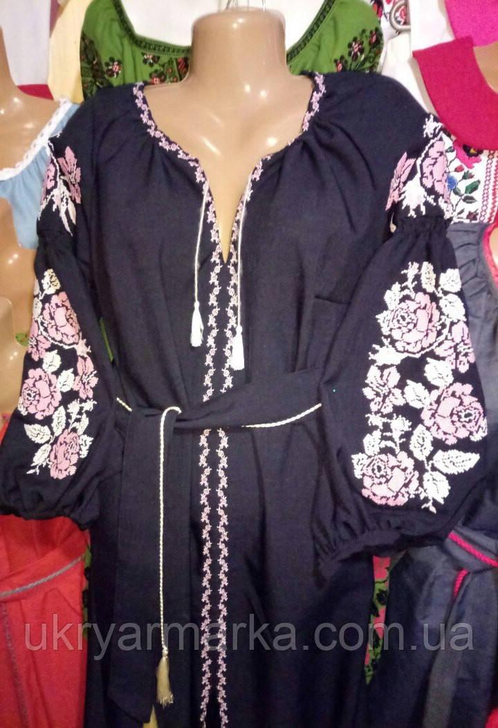 Сукня вишиванка в стилі бохо з Коломиї c3bebd9bab00a