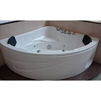 Ванна APPOLLO угловая с гидромассажем и пневмокнопкой 1540*1540*690 мм