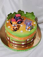 Торт детский  Герои Сказок для мальчиков и девочек на заказ Харьков