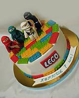 Торт детский Lego для мальчика на заказ Харьков