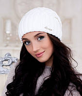 Женская шапка Braxton Аврора белая