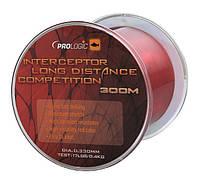 Леска Prologic Interceptor Competition Long Distance 300m 17lbs 8.4kg 0.33 красная ProLodgic