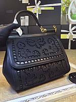 Женская кожаная сумка D&G