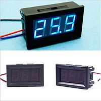 Цифровой вольтметр DC 0-30V (Синий) 3P