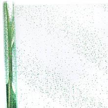 Плівка прозора Сніг 400 гр 60см зелена