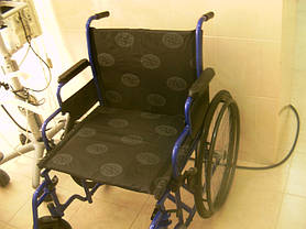 Поставка инвалидной коляски усиленной для отделения реанимации ЛПУ г.Одессы 1