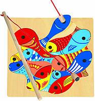 Магнитный пазл Bino Рыбалка (82737)