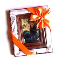 Подарок коллеге на день рождение. Портрет из шоколада под заказ, фото 1