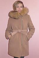 Детская одежда.   Пальто кашемировое-зимнее(капучино)