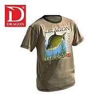 Футболка Dragon Лещ оливковая