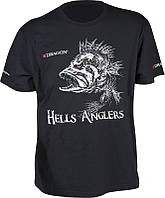 Футболка Dragon Hells Anglers ОКУНЬ