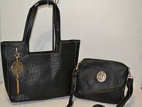 Женская сумка  с косметичкой Roberto Cavalli (Роберто Кавалли), копия