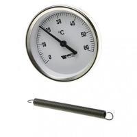 Термометр биметаллический накладной WATTS F+R810 (ТAB-80/120)