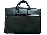 Кожаная сумка для ноутбука 17-17.3