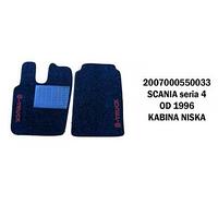 Коврик велюр SCANIA 114 G от 1996 низкая кабина/3017