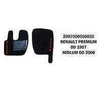 Коврик велюр RENAULT PREMIUM от 1997 MIDLUM от 2000/3012
