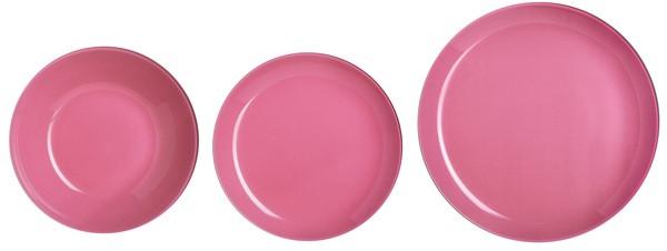 Сервиз столовый LUMINARC ARTY ROSE, 18 предметов