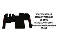 Коврик велюр RENAULT MAGNUM от 96 manual+automat/3009