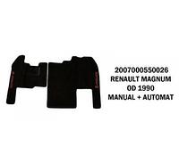 Коврик велюр RENAULT MAGNUM 1990-1996 manual+automat/3008
