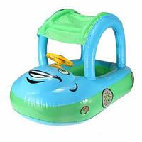 Надувная детская лодка Автомобиль