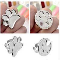Кольцо палитра для смешивания красок для росписи ногтей и дизайна