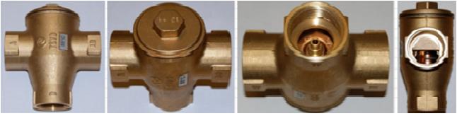 Трехходовой смесительный клапан Regulus TSV 8