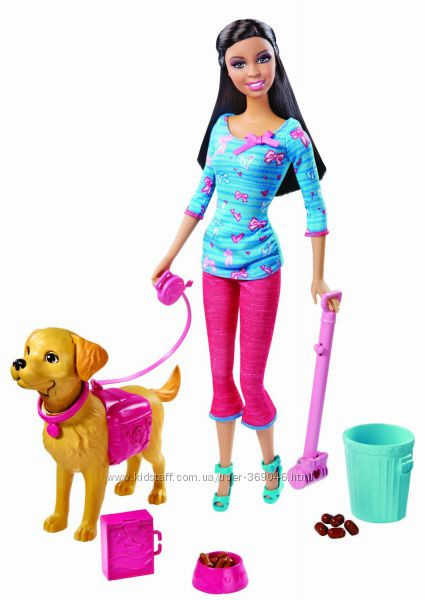 Барби с собачкой  Barbie Potty Training Taffy Doll