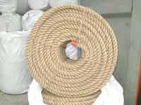 Канат джутовый диаметр 20 мм трехпрядный ТС
