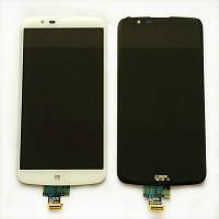 Экран для LG K10 LTE (K430DS) с сенсором белый