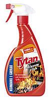 Жидкость для чистки Tytan каминных стекол и гриля спрей 500 гр